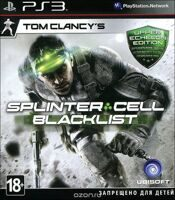 Диск PS-3 Splinter cell б/у