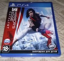 Диск PS4 Mirrors edge Catalist б/у