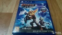 Диск PS4 Ratchet Clank б/у