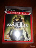 Диск PS-3 Tomb Raider Underworld б/у