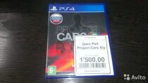 Диск PS4 Project Cars б/у