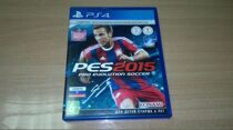 Диск PS-4 PES 2015. pro evolution soccer б/у