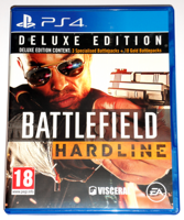 Диск PS4 Battlefield Hardline новый