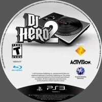 Диск PS-3 DJ Hero 2 б/у